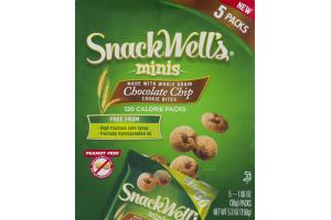 SnackWell's Minis Chocolate Chip Cookie Bites - 5 PKS