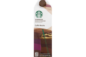 Starbucks Discoveries Iced Cafe Favorites Caffe Mocha