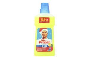 Средство моющее для полов и стен Лимон Mr.Proper 500мл