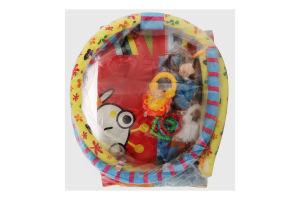 Килимок для дітей від народження багатофункціональний розвиваючий, ігровий №F1007 Lindo 1шт