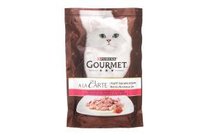 Корм Gourmet Ala Carte з фореллю 85г х24