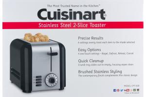 Cuisinart Stainless Steel 2-Slice Toaster