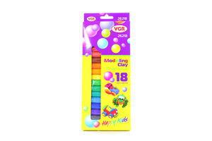 Пластилін 18 кольорів