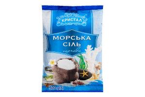 Соль морская пищевая Кристал м/у 500г