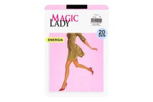 Колготки жіночі Magic Lady Energia 20den 2 black