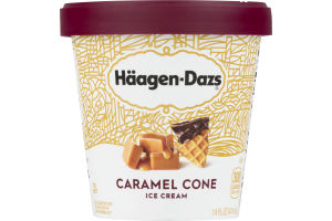 Haagen-Dazs Ice Cream Caramel Cone