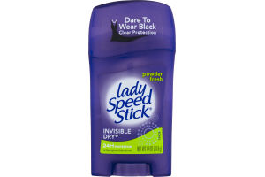 Lady Speed Stick Invisible Dry Antiperspirant/Deodorant Powder Fresh