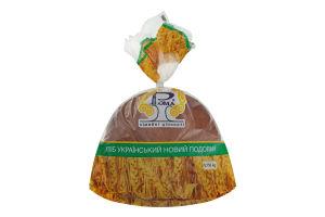 Хлеб подовый Украинский новый Рома м/у 0.75кг