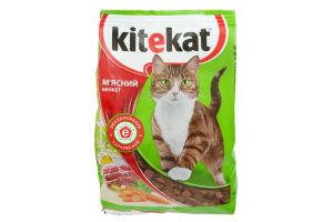 Корм сухой для котов Мясной банкет Kitekat м/у 400г