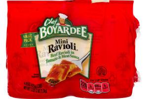Chef Boyardee Mini Ravioli - 4 CT
