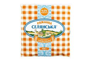 Ряженка 4% Селянська м/у 400г