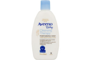 Aveeno Baby Moisturizing Wash Cleansing Therapy