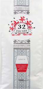 Кава 32Pounds класік в зернах 1кг х6