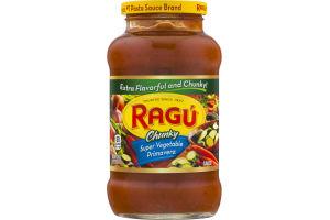 Ragu Chunky Super Vegetable Primavera Sauce