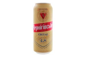 Пиво 0.5л 4.6% светлое Чернігівське ж/б