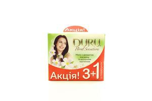 Мило Duru Floral Sensations Жасмин та молоч протеїн 3+1 270г