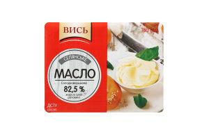 Масло 82.5% солодковершкове Селянське Вись м/у 180г