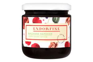 Варенье вишневое с грецким орехом Endorfine с/б 234г