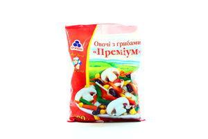 Овощи Рудь Премиум с грибами с/м м/у 400г