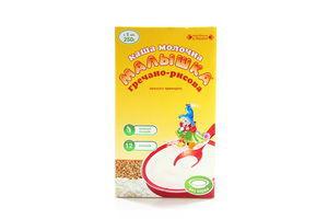 Каша молочная для детей от 5мес Гречнево-рисовая Малышка к/у 250г