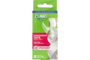 Curad Transparent Tape - 2 CT
