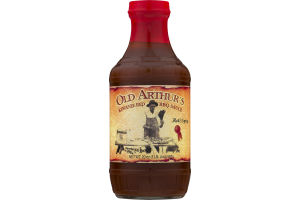 Old Arthur's Kewanee Red BBQ Sauce Hot Spicy