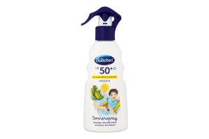 Спрей солнцезащитный детский SPF50+ Sensitiv Bubchen 200мл