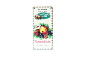Чай Карпатский чай мультифрукт ф/п 20*2г