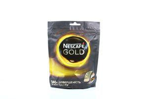 Кофе натуральный растворимый Nescafe Gold 140г