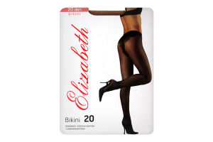 Колготки женские Elizabeth Bikini 20 visone р.4