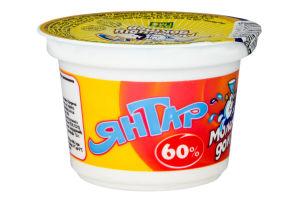 Продукт сырный 60% плавленый пастообразный Янтар Молочный доктор ст 100г