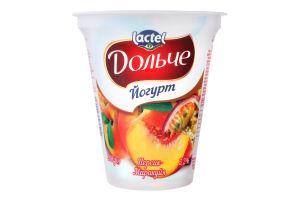 Йогурт 3.2% Персик-маракуйя Дольче ст 280г