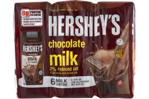 Hershey's Chocolate Milk 2% Reduced Fat - 6 CT