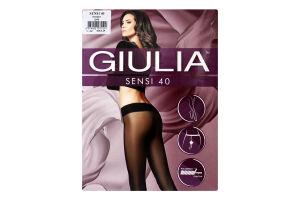 Колготки жіночі Giulia Sensi 40den 2-S nero