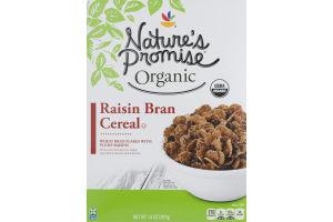 Nature's Promise Organic Cereal Raisin Bran