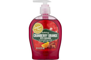 Ahold Holiday Liquid Hand Soap Cranberry Orange