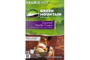 Green Mountain Coffee K-Cup Pods Caramel Vanilla Cream - 12 CT