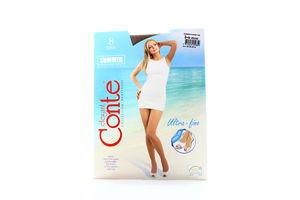 Колготы женские Conte Summer multifibra 8den 3-M bronz