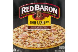 Red Baron Thin & Crispy Crust Pizza Bacon Lovers