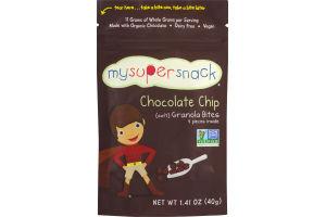 MySuperSnack Chocolate Chip Soft Granola Bites