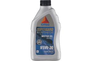 Citgo Supergard Synthetic Blend Motor Oil 5W-30