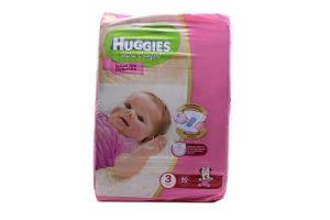 Подгузники детские для девочек 5-9кг Ultra comfort Huggies 80шт