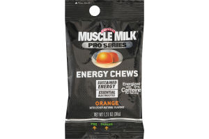 Muscle Milk Pro Series Energy Chews Orange
