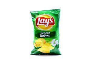 Чіпси Lays Max Зелена цибуля 35г х18