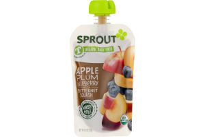Sprout Organic Toddler Puree Blueberry Superfruit