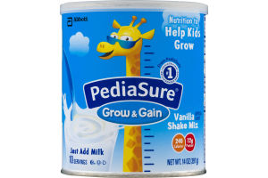 PediaSure Grow & Gain Vanilla Shake Mix