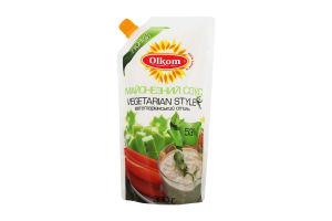 Соус майонезний 53% Vegetarian Style Olkom д/п 360г