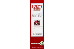 Burt's Bees Naturally Ageless Line Diminishing Day Lotion