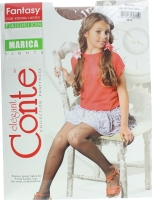 CONTE-KIDS Fantasy колготи дитячі Marica р.152-158 natural