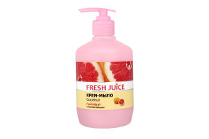 Крем-мыло жидкое с увлажняющим молочком Grapefruit Fresh Juice 460мл